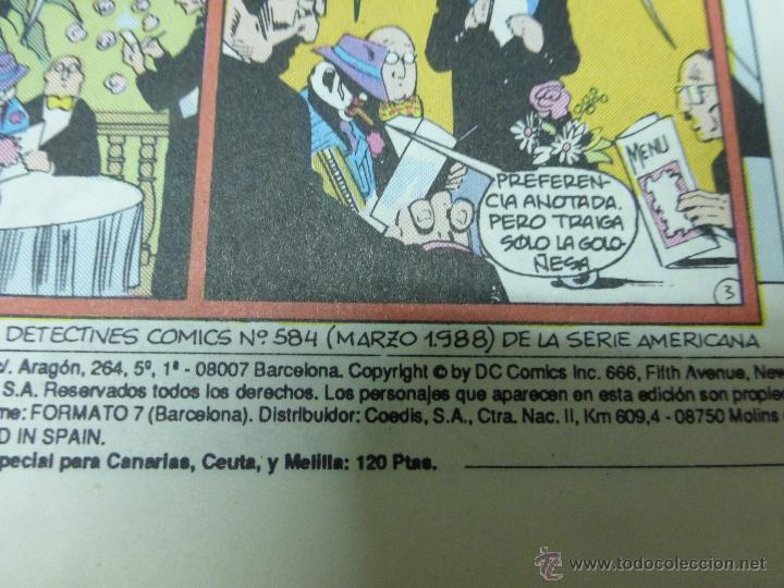 Cómics: BATMAN NUMERO 28. BAJADA DE FIEBRE - ZINCO AÑO 1987 - Foto 2 - 44437190