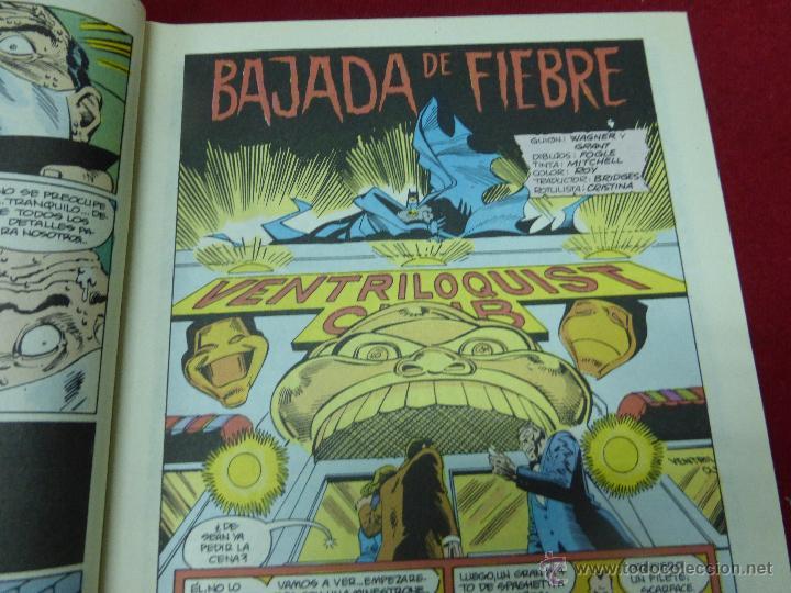Cómics: BATMAN NUMERO 28. BAJADA DE FIEBRE - ZINCO AÑO 1987 - Foto 3 - 44437190