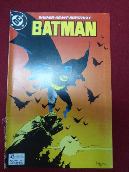 BATMAN - N.27 - FIEBRE - ZINCO - 1988 (Tebeos y Comics - Zinco - Batman)