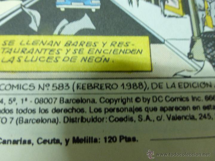Cómics: BATMAN - N.27 - FIEBRE - ZINCO - 1988 - Foto 2 - 44437339