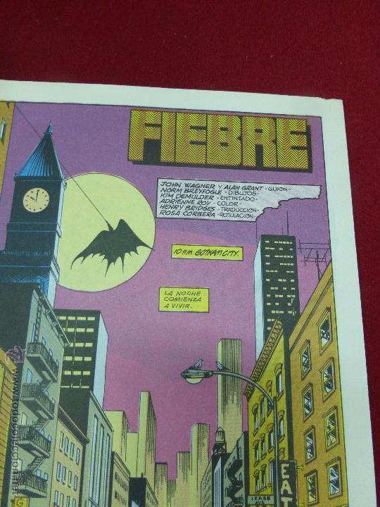 Cómics: BATMAN - N.27 - FIEBRE - ZINCO - 1988 - Foto 3 - 44437339
