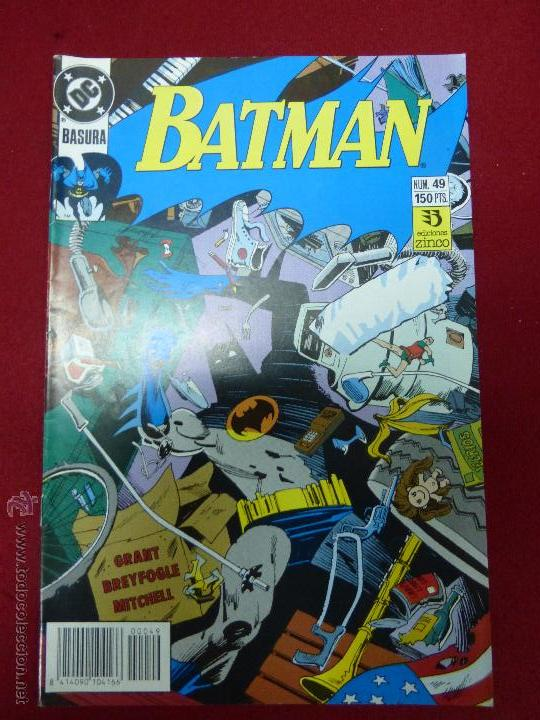 BATMAN N 49 : BASURA - ED. ZINCO (Tebeos y Comics - Zinco - Batman)
