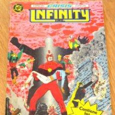Cómics: INFINITY INC ESPECIAL CRISIS Nº 15 AL 18 EDICIONES ZINCO AÑO 1986. Lote 44526791
