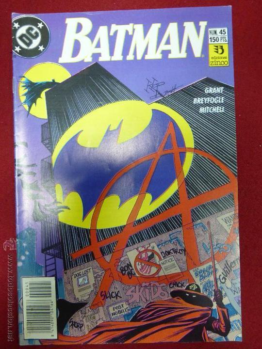 BATMAN N.45 VOLUMEN 2 - ZINCO - (Tebeos y Comics - Zinco - Batman)