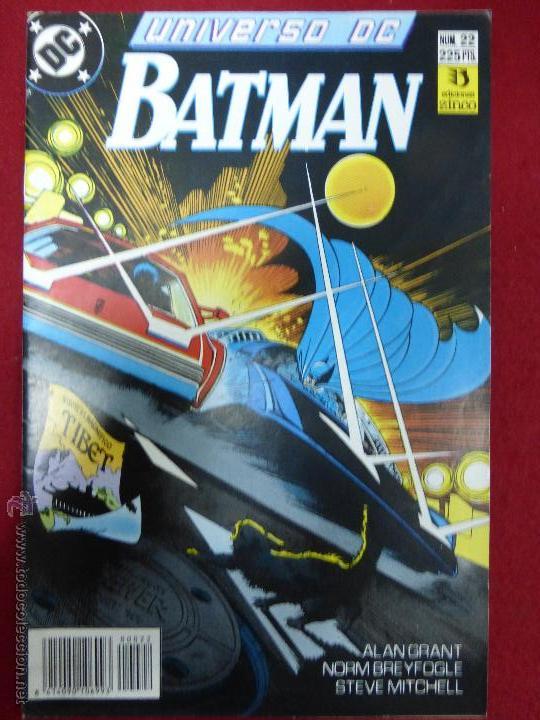 UNIVERSO DC. BATMAN. NUMERO 22. EDICIONES ZINCO. (Tebeos y Comics - Zinco - Batman)
