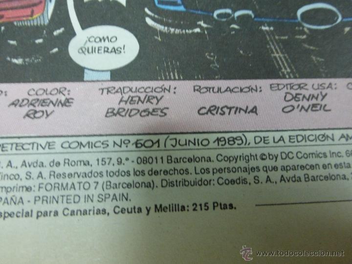 Cómics: UNIVERSO DC. BATMAN. NUMERO 22. EDICIONES ZINCO. - Foto 2 - 44540957