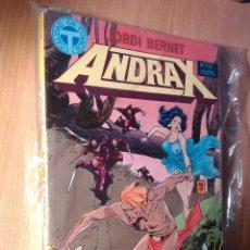 Comics: ANDRAX Nº 1 AL 6 - RETAPADO. Lote 44613312