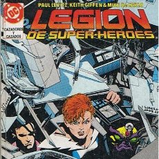 Cómics: CÓMIC LEGION DE SUPER - HÉROES N 19 AL 23 . Lote 44711331