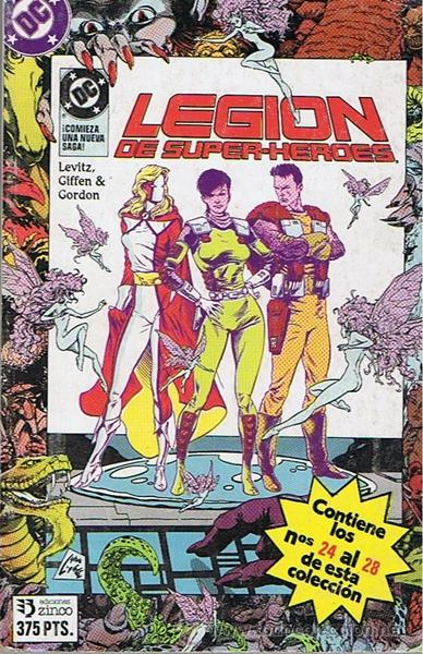 Cómics: CÓMIC LEGION DE SUPER - HÉROES N 24 AL 28 - Foto 1 - 44711451