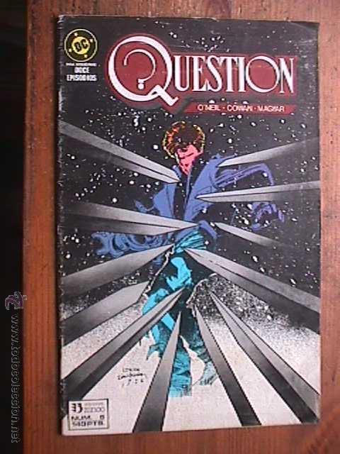 QUESTION Nº 5 DE 12, DC, ZINCO, 1988 (Tebeos y Comics - Zinco - Question)