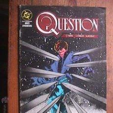 Cómics: QUESTION Nº 5 DE 12, DC, ZINCO, 1988. Lote 44742623