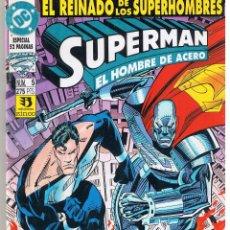 Cómics: SUPERMAN. EL REINADO DE LOS SUPERHOMBRES. Nº 5. DC/ZINCO (C/A24). Lote 44771053