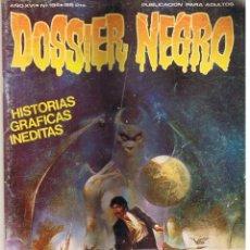 Cómics: DOOSSIER NEGRO, Nº 194. HISTORIAS GRAFICAS INÉDITAS.. Lote 44828896