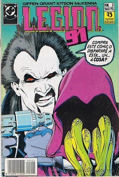 LEGION 91 N.2 (Tebeos y Comics - Zinco - Legión 91)