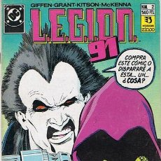 Cómics: LEGION 91 N.2 . Lote 44908117