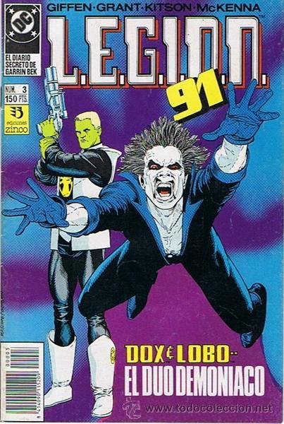 LEGION 91 N. 3 (Tebeos y Comics - Zinco - Legión 91)