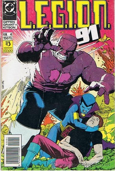 LEGION 91 N. 4 (Tebeos y Comics - Zinco - Legión 91)