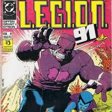 Cómics: LEGION 91 N. 4. Lote 44908195