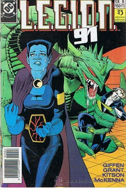 LEGION 91 N.6 (Tebeos y Comics - Zinco - Legión 91)