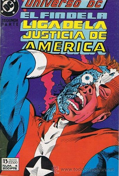 EL FIN DE LA LIGA DE LA JUSTICIA DE AMERICA N.4 (Tebeos y Comics - Zinco - Liga de la Justicia)
