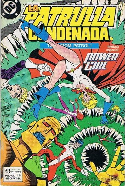 LA PATRULLA CONDENADA N.13 (Tebeos y Comics - Zinco - Patrulla Condenada)