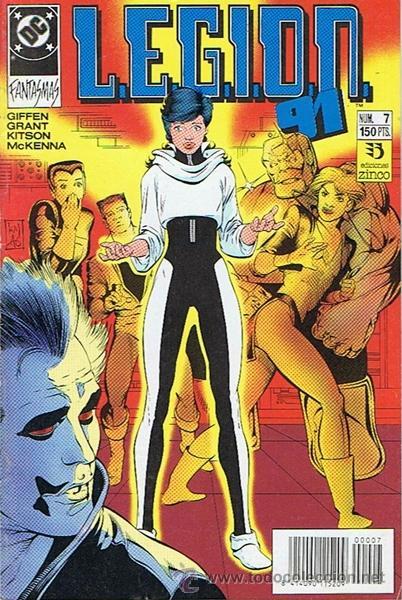 LEGION 91 N.7 (Tebeos y Comics - Zinco - Legión 91)