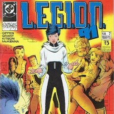 Cómics: LEGION 91 N.7. Lote 44934096