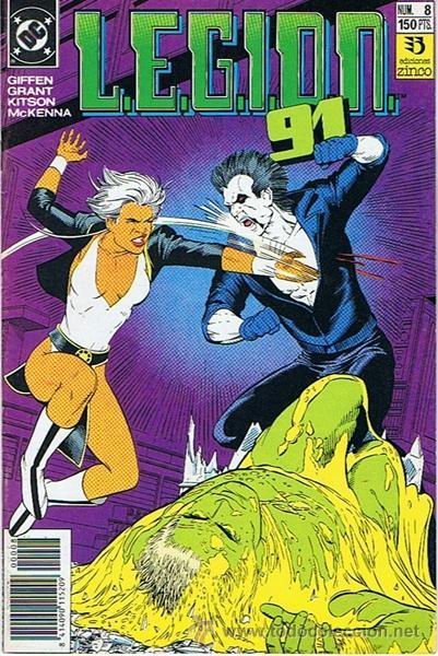 LEGION 91 N. 8 (Tebeos y Comics - Zinco - Legión 91)