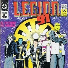 Cómics: LEGION 91 N.9. Lote 44934169