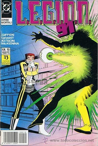 LEGION 91 N.10 (Tebeos y Comics - Zinco - Legión 91)