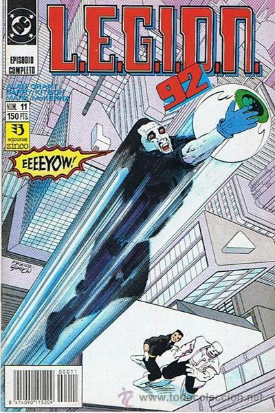 LEGION 92 N.11 (Tebeos y Comics - Zinco - Legión 91)