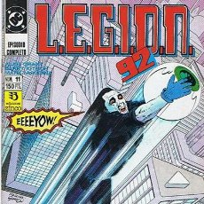 Cómics: LEGION 92 N.11 . Lote 44934257