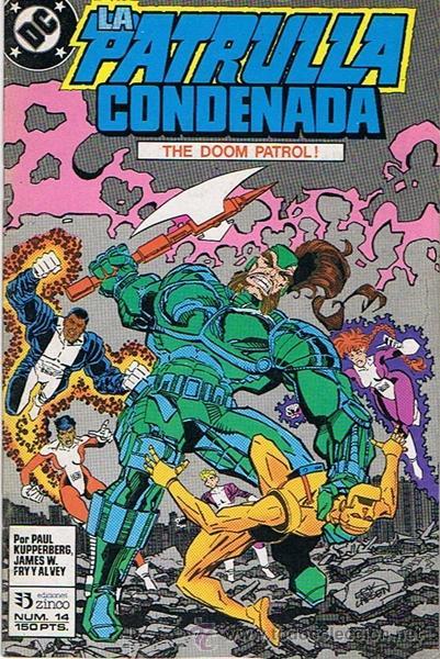 LA PATRULLA CONDENADA N.14 (Tebeos y Comics - Zinco - Patrulla Condenada)