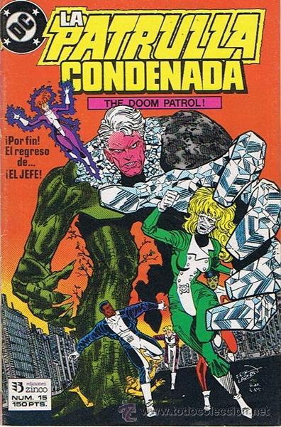 LA PATRULLA CONDENADA N.15 (Tebeos y Comics - Zinco - Patrulla Condenada)