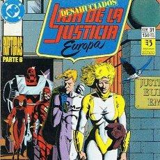 Cómics: LIGA DE LA JUSTICIA EUROPA N.31. Lote 44936541