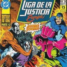 Cómics: LIGA DE LA JUSTICIA EUROPA N.34 . Lote 44936641