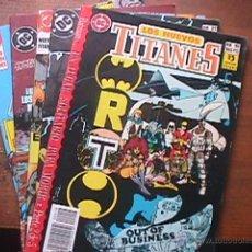 Cómics: LOS NUEVOS TITANES Nº 19, 21, 25, 29 Y 32, ÇDC, ZINCO, 1990. Lote 44979756