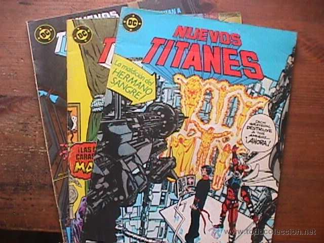 NUEVOS TITANES Nº 36, 48 Y 49, DC, ZINCO, 1990 (Tebeos y Comics - Zinco - Nuevos Titanes)