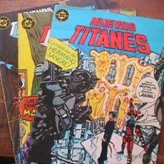 Cómics: NUEVOS TITANES Nº 36, 48 Y 49, DC, ZINCO, 1990. Lote 44979779