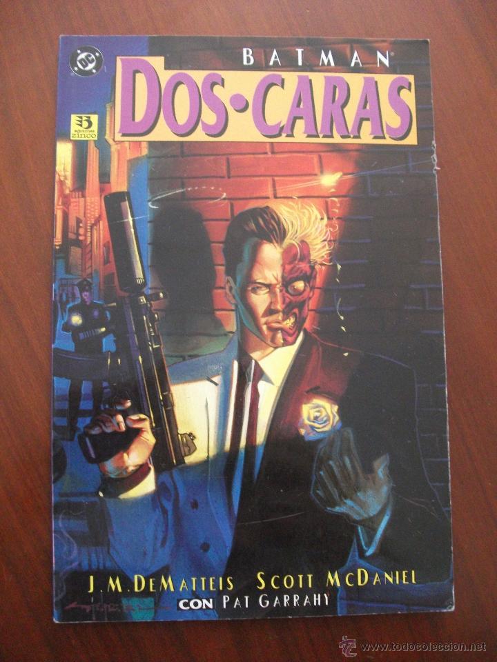 BATMAN DOS CARAS EDICIONES ZINCO (Tebeos y Comics - Zinco - Prestiges y Tomos)