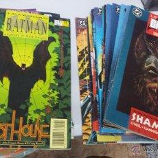 Cómics: LEYENDAS DE BATMAN ¡ LOTE 21 NUMEROS ! DC - ZINCO /POSIBILIDAD NUMEROS SUELTOS. Lote 45356618
