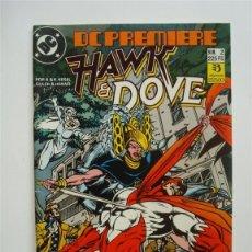 Cómics: DC PREMIERE Nº 2 - HAWK & DOVE - ZINCO (DC). Lote 45422219