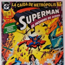 Cómics: SUPERMAN EL HOMBRE DE ACERO Nº 14 NÚMERO ESPECIAL EDICIONES ZINCO. ¡ NUEVO ! SIN USO.. Lote 45560366