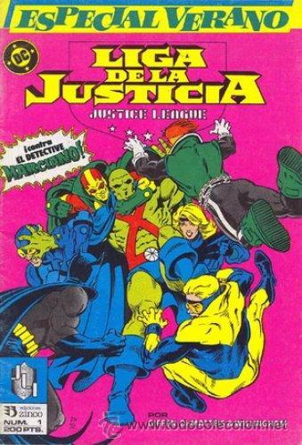LIGA DE LA JUSTICIA. ESPECIAL VERANO (Tebeos y Comics - Zinco - Liga de la Justicia)