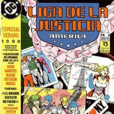 Cómics: LIGA DE LA JUSTICIA AMERICA. ESPECIAL VERANO 1990. Lote 45692599