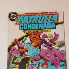 Cómics: LA PATRULLA CONDENADA 9 ZINCO. Lote 45806358
