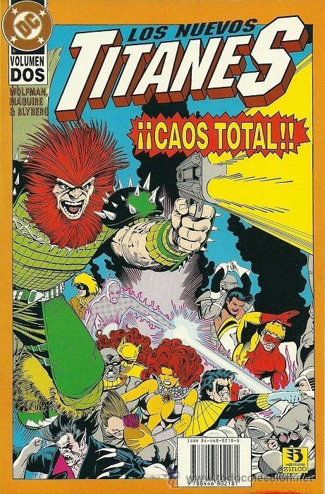 LOS NUEVOS TITANES. CAOS TOTAL Nº 2 (Tebeos y Comics - Zinco - Nuevos Titanes)