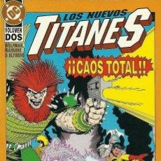 Cómics: LOS NUEVOS TITANES. CAOS TOTAL Nº 2. Lote 45848201