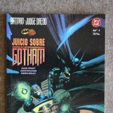 Cómics: BATMAN-JUDGE DREDD / JUICIO SOBRE GOTHAM. GRANT/WAGNER/BISLEY. Lote 45872263