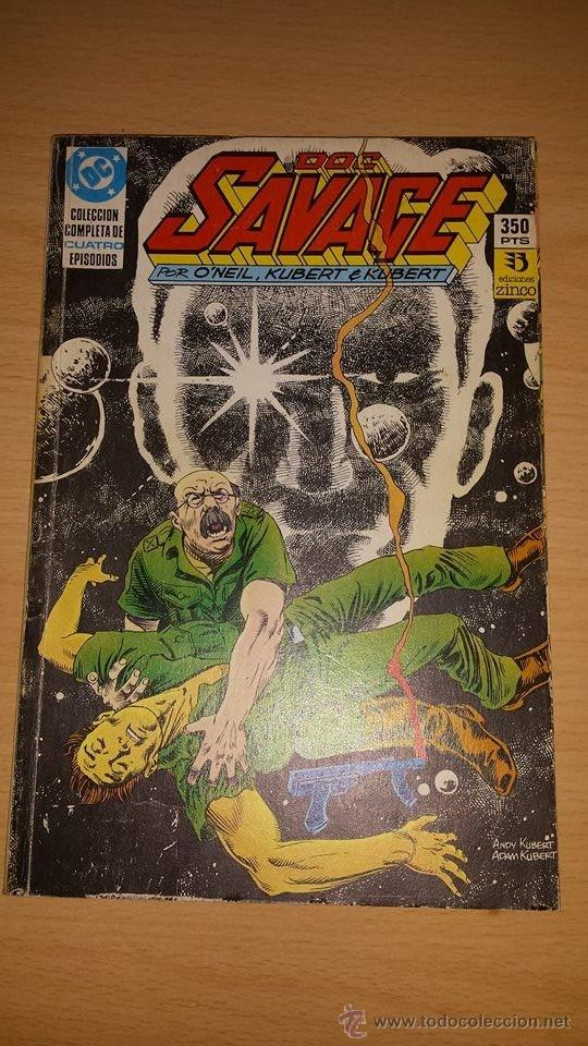 DOC SAVAGE RETAPADO CON LA MINISERIE COMPLETA. (Tebeos y Comics - Zinco - Retapados)